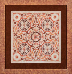 Glendon Place Pumpkin Swirl GP-188 cross stitch pattern