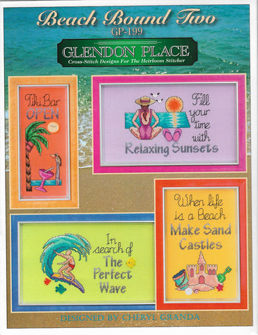 Glendon Place Beach Bound Two GP-199 cross stitch pattern