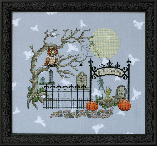 Glendon Place Whooligan's Hangout GP-201 Halloween cross stitch pattern