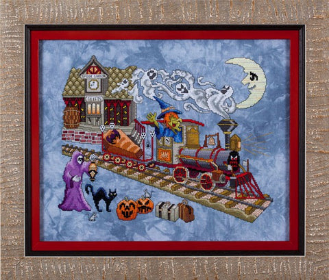 Glendon Place Eerie Express GP211 cross stitch pattern