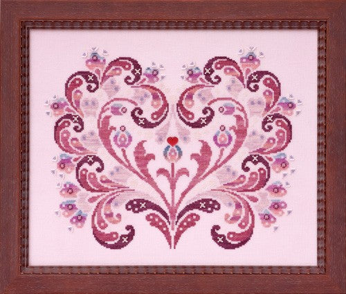 Glendon Place Simply Love GP-230 cross stitch pattern