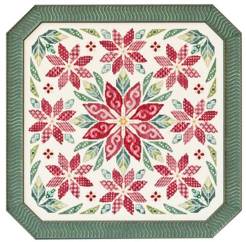Glendon Place Flowers of the Holy Night GP-237 cross stitch pattern