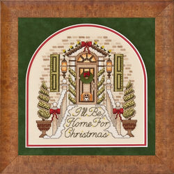 Glendon Place I'll Be Home For Christmas GP-240 cross stitch pattern