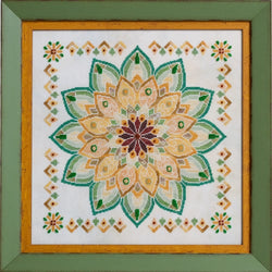 Glendon Place Helianthus GP-256 Sunflower Mandala cross stitch pattern