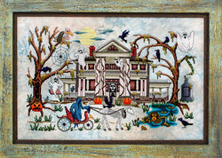 Glendon Place Phantom Plantation GP-257 Halloween cross stitch pattern