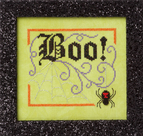 Glendon Place Boo Elegance GP-260 Halloween cross stitch pattern