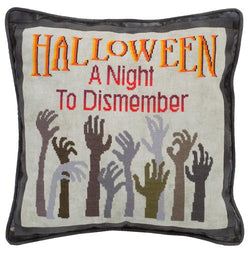 Glendon PlaceA Night to Dismember GP-261 Halloween cross stitch pattern