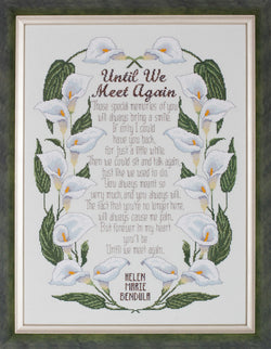 zglendon Place Until We Meet Again GP-264 cross stitch pattern
