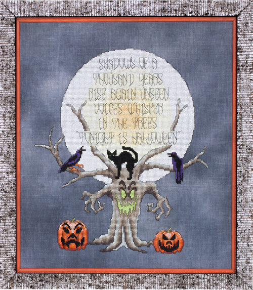 Glendon Place Tonight is Halloween GP-265 cross sstitch pattern
