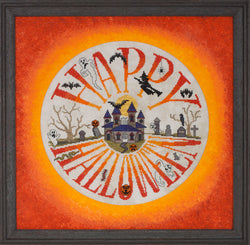 Glendon Place Halloween Ala Round GP-266 cross stitch pattern