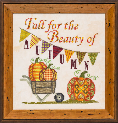 Glendon Place Fall for Autumn GP-273 Autumn cross stitch pattern