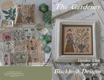 Blackbird Designs Gardener, The - Garden Club 9 cross stitch pattern