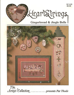 Heartstrings Gingerbread & Jingle Bless christmas cross stitch pattern
