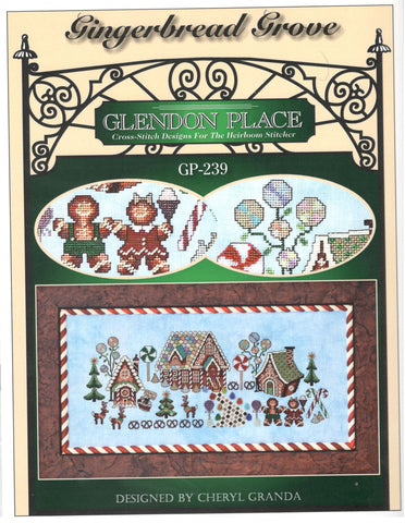 Glendon Place Gingerbread Grove GP-239 christmas cross stitch pattern