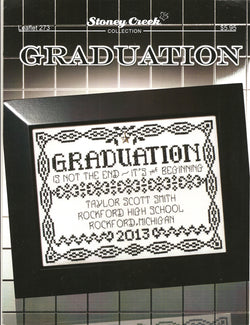 Stoney Creek Graduation LFT273 cross stitch pattern