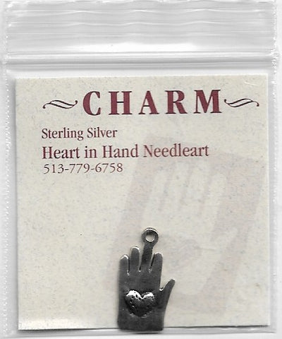 Heart in Hand Heart in Hand sterling silver charm HIHCH1
