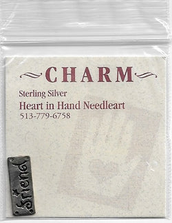 Heart in Hand friend HIHCH8 sterling silver charm