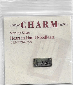 Heart in Hand Boo! sterling silver charm HIHCH9