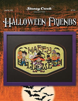 Stoney Creek Hallowen friends LFT358 Halloween cross stitch booklet