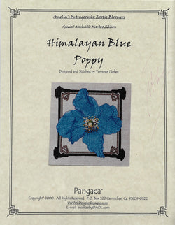 Dimples Designs Himalayan Blue Poopy Terrence Nolan cross stitch pattern