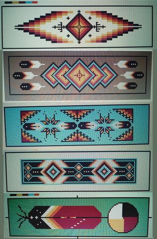 Native American Bookmarks PDF