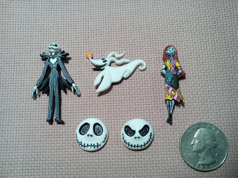 Nightmare before christmas cross stith needle minder