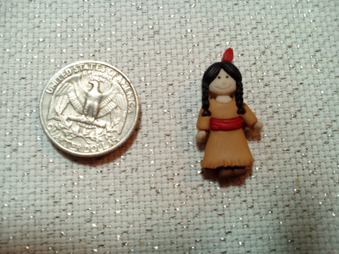 Pilgrims and Indians Needle Minders