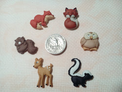 Baby Woodland Animals needle minders