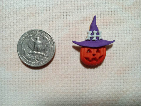 Pumpkin Head needle minders