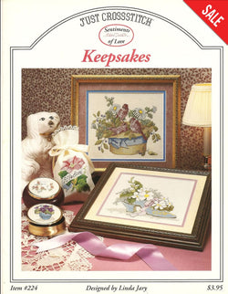 Just Crossstitch Keepsakes flower cross stitch Pattern