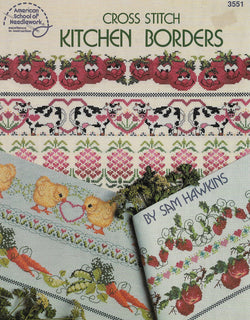 American School of Needlework 50 Kitchen Borders cross stitch pattern