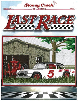 Stoney Creek Last Race LFT498 cross stitch pattern
