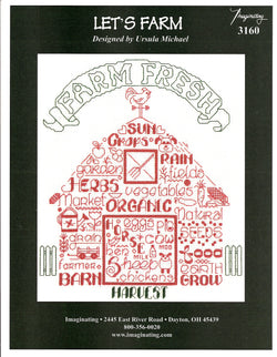 Imaginating Let's Farm 3160 cross stitch pattern