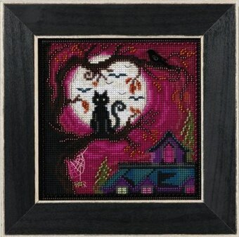 Mill Hill Moonstruck beaded Halloween cross stitch kit