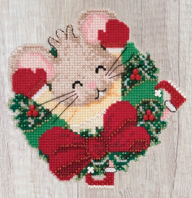 Mill Hill Patsy Pine 19-2011 beaded cross stitch kit