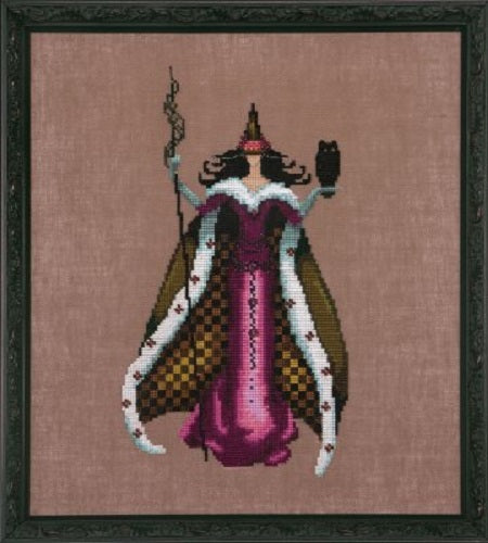 Mirabilia Mari NC210 bewitching pixie series victorian cross stitch