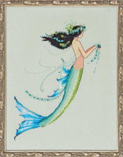 Mirabilia Mermaid Azure NC-190 cross stitch pattern