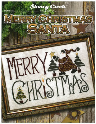 Stoney Creek Merry Christmas Santa, LFT515 cross stitch pattern