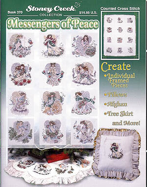 Stoney Creek Messengers of Peace BK370 cross stitch pattern