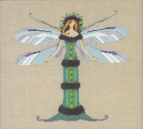 Mirabilia Miss Dragonfly NC257 Butterfly Misses cross stitch
