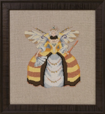 Mirabilia Miss Queen Bee NC261 victorian cross stitch