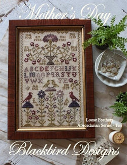 Blackbird Designs Mother's Day cross stitch pattern