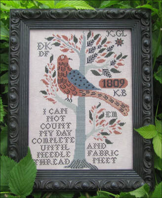 Kathy Barrick My Day Complete cross stitch pattern
