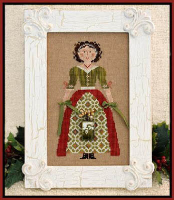 Little House Needleworks My Lady At Christmas cross stitch pattern