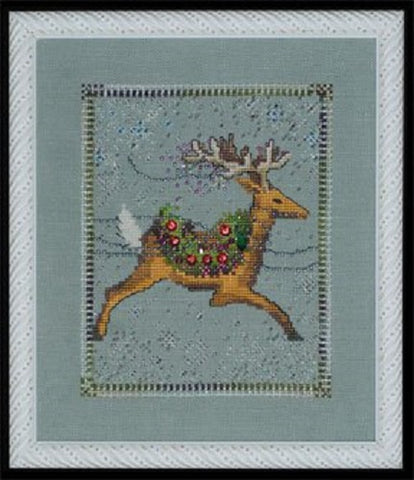 Mirabilia Dasher - Christmas Eve Couriers NC113 Cross Stitch Pattern