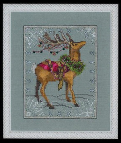 Mirabilia Donner - Christmas Eve Couriers NC114 Cross Stitch Pattern