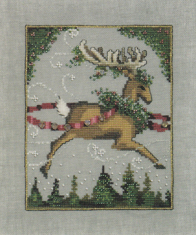 Mirabilia Blitzen - Christmas Eve Couriers NC116 Cross Stitch Pattern