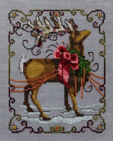 Mirabilia Vixen - Christmas Eve Couriers NC117 Cross Stitch Pattern