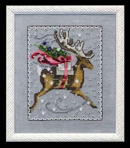 Mirabilia Comet - Christmas Eve Couriers NC120 Cross Stitch Pattern