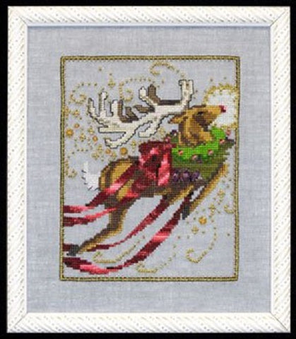 Mirabilia Rudolph - Christmas Eve Couriers NC121 Cross Stitch Pattern